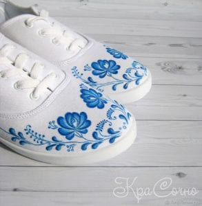 Bez Ayakkabı Boyama 1