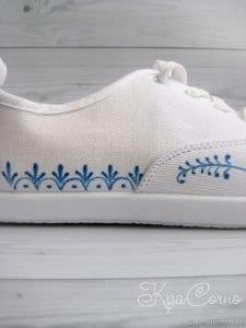Bez Ayakkabı Boyama