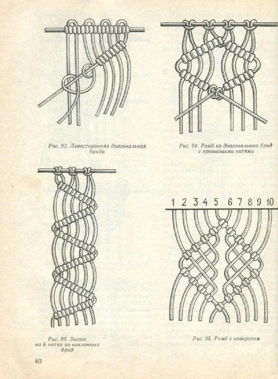 Makrome Düğüm Çeşitleri 18