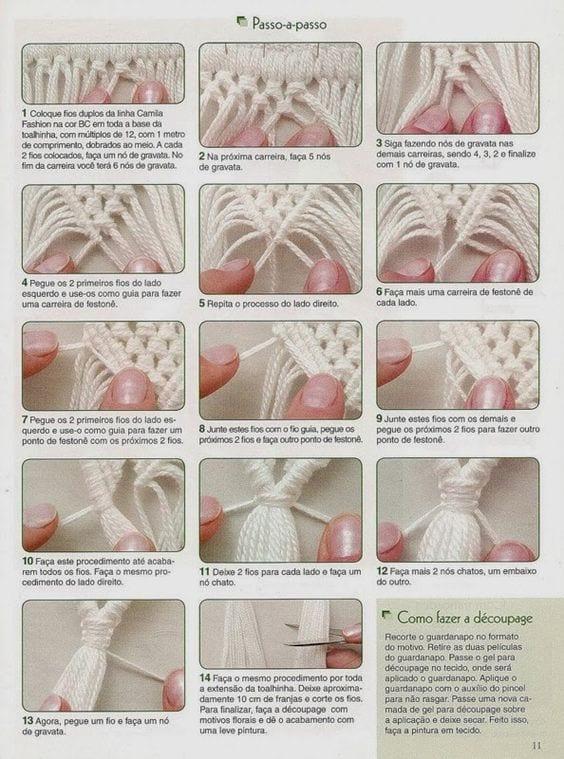 Makrome Düğüm Çeşitleri 19