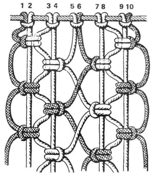 Makrome Düğüm Çeşitleri 59