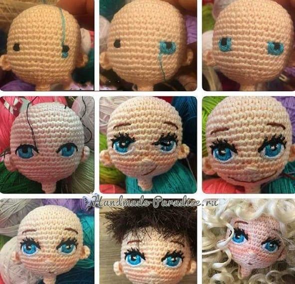 Broş Fikirleri | Amigurumi modelleri, Tığ işleri, Örme bebekler | 570x591