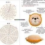 Amigurumi Örgü Yastık Yapılışı 12