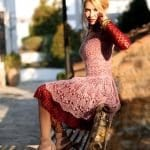 Angora Örgü Elbise Modelleri 108
