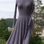 Angora Örgü Elbise Modelleri