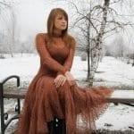 Angora Örgü Elbise Modelleri 34