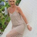 Angora Örgü Elbise Modelleri 41