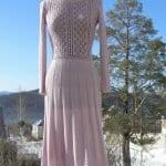 Angora Örgü Elbise Modelleri 6