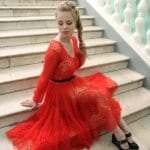 Angora Örgü Elbise Modelleri 76