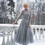 Angora Örgü Elbise Modelleri 80