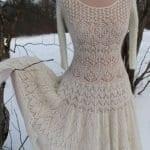 Angora Örgü Elbise Modelleri 84