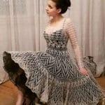Angora Örgü Elbise Modelleri 88