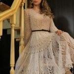 Angora Örgü Elbise Modelleri 89