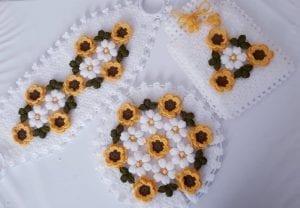 Çiçekli Takımlı Lif Yapılışı 1