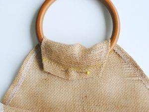 Çuval Kumaşından Çanta Yapımı 12