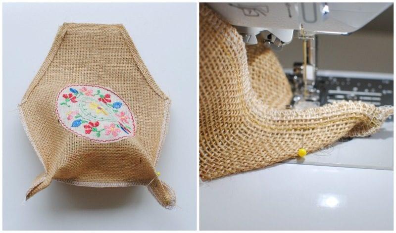 Çuval Kumaşından Çanta Yapımı 1