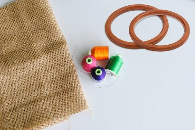 Çuval Kumaşından Çanta Yapımı 5