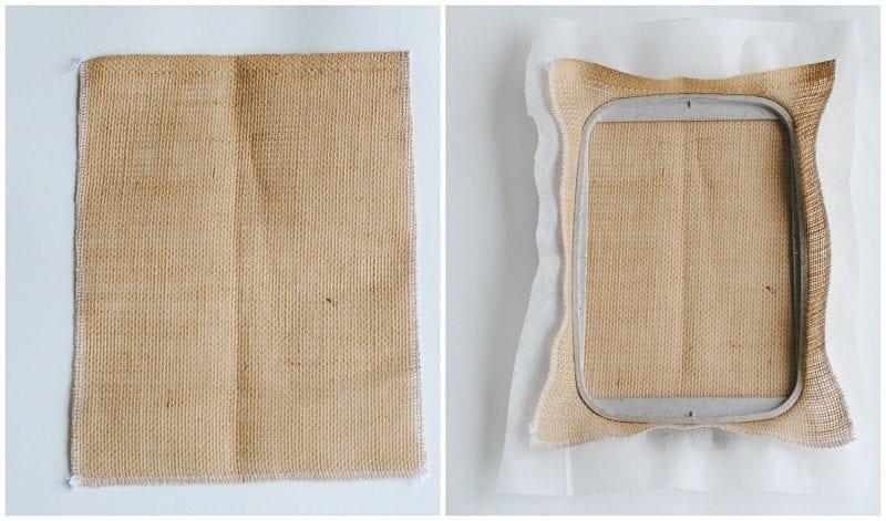 Çuval Kumaşından Çanta Yapımı