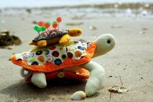 Kaplumbağa İğnelik Yapımı