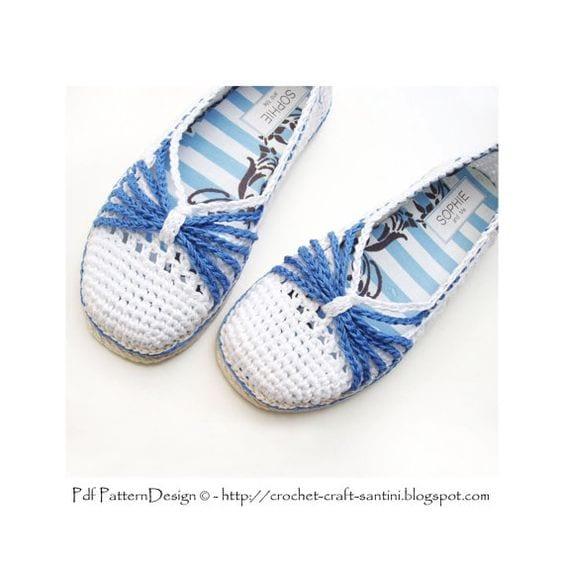Örgü Ayakkabı Modelleri 100