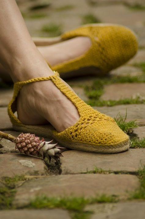Örgü Ayakkabı Modelleri 102