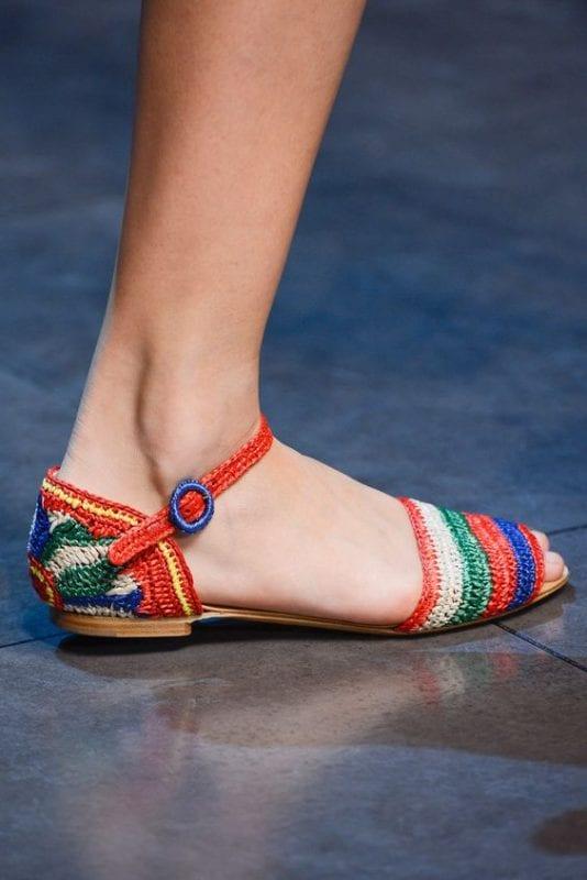 Örgü Ayakkabı Modelleri 15
