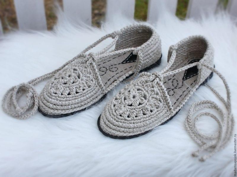 Örgü Ayakkabı Modelleri 16