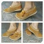 Örgü Ayakkabı Modelleri 20