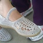 Örgü Ayakkabı Modelleri 22