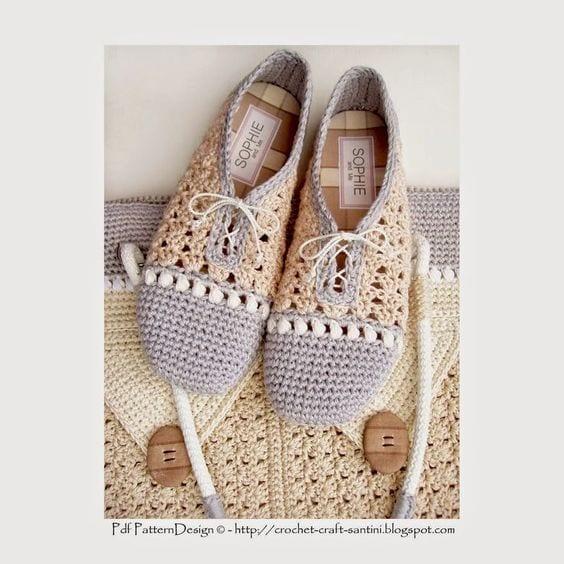 Örgü Ayakkabı Modelleri 26