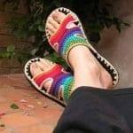 Örgü Ayakkabı Modelleri 29