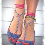Örgü Ayakkabı Modelleri 32