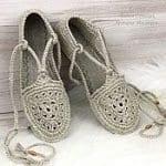 Örgü Ayakkabı Modelleri 33