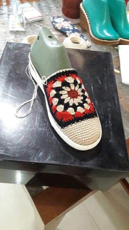 Örgü Ayakkabı Modelleri 34