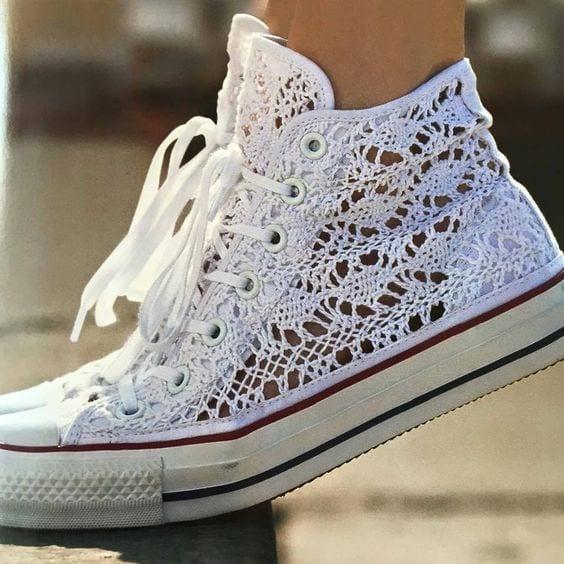 Örgü Ayakkabı Modelleri 36