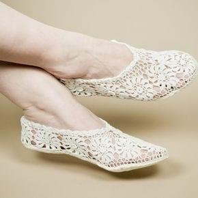 Örgü Ayakkabı Modelleri 43