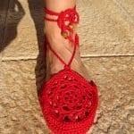 Örgü Ayakkabı Modelleri 46