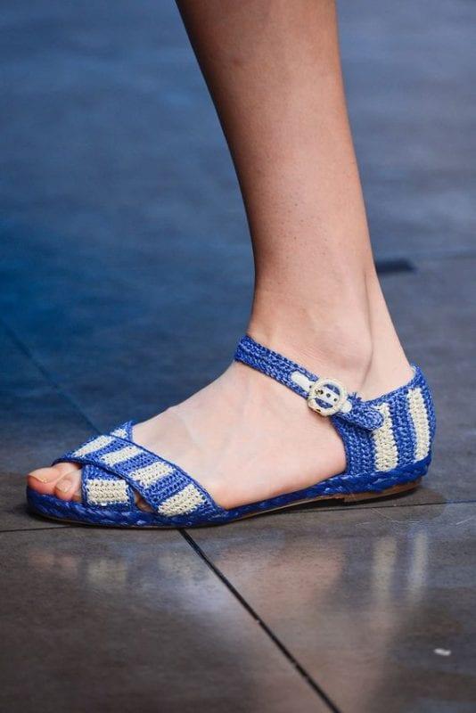 Örgü Ayakkabı Modelleri 48