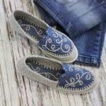 Örgü Ayakkabı Modelleri 4