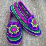 Örgü Ayakkabı Modelleri 49