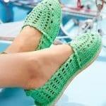 Örgü Ayakkabı Modelleri 50