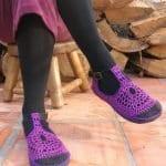 Örgü Ayakkabı Modelleri 51