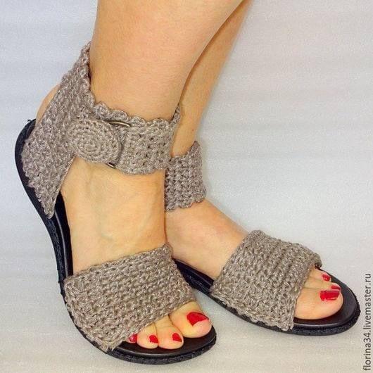 Örgü Ayakkabı Modelleri 52