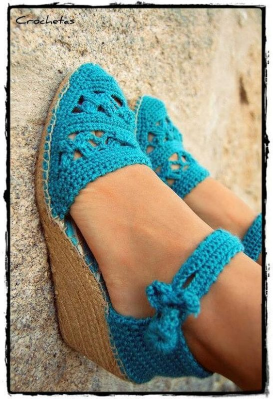 Örgü Ayakkabı Modelleri 55