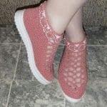 Örgü Ayakkabı Modelleri 56