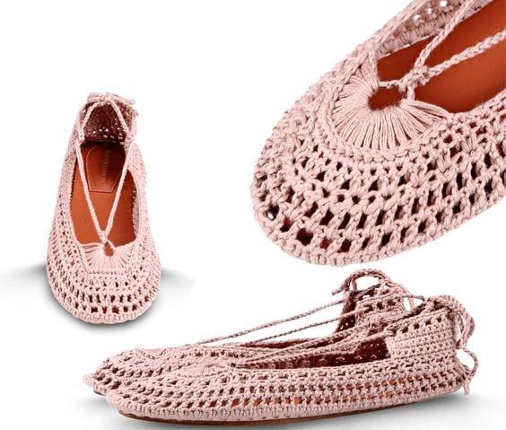 Örgü Ayakkabı Modelleri 61