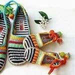 Örgü Ayakkabı Modelleri 62