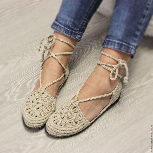 Örgü Ayakkabı Modelleri 6