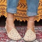 Örgü Ayakkabı Modelleri 72