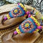 Örgü Ayakkabı Modelleri 75